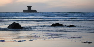 La rocco tower in Jersey stock photo