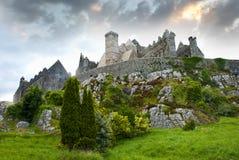 La roche de Cashel images stock