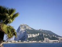 La roche de la La Linea en Espagne, Gibraltar, l'Europe images stock