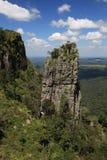 La roche de sommet dans Mpumalanga Photographie stock libre de droits