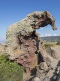 La roche des elepant Photos stock