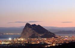 La roche du Gibraltar Photos libres de droits