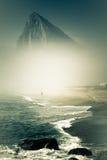 La roche du Gibraltar Photographie stock