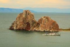 La roche du Shaman Photographie stock libre de droits