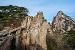 La roche et la crête de Shixin Images stock