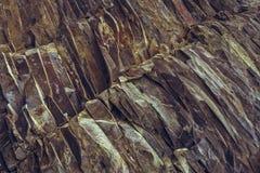 La roche ferrique pose le fond photo libre de droits