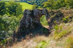 La Roche-Percee, Burgundy Stock Images