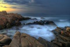 La roche rouge Photo libre de droits