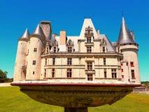 La Rochefoucaud di Château Immagini Stock
