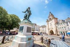 La Rochelle city in France Stock Photo