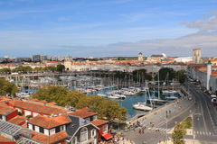 La Rochelle, France Imagem de Stock Royalty Free