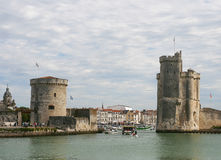 La Rochelle- France royalty free stock image