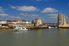 La Rochelle Frankrike Fotografering för Bildbyråer