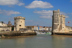 La Rochelle Frankrike Arkivbild