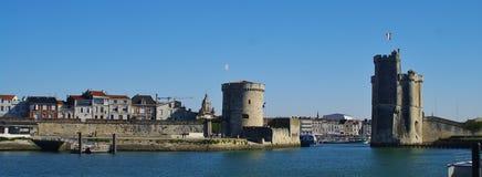 La Rochelle Hafen Stockbild