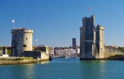 La Rochelle hamn Arkivfoton