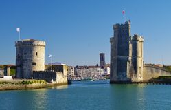 La rochelle harbor Stock Photos