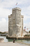 La Rochelle harbour, France. An harbour, at La Rochelle in France royalty free stock photos