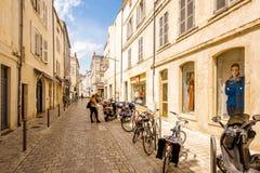 La Rochelle miasto w Francja Fotografia Stock