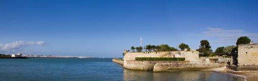 La Rochelle - panorama Fotografie Stock