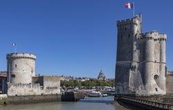 La Rochelle - Poitou-Charentes - França fotografia de stock