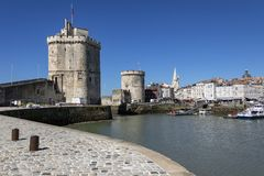La Rochelle - Poitou-Charentes - France. stock photography