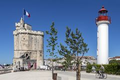 La Rochelle - Poitou-Charentes region of France royalty free stock photography