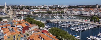La Rochelle - Poitou-Charentes region of France Stock Photography