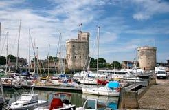 La Rochelle port Royalty Free Stock Photography