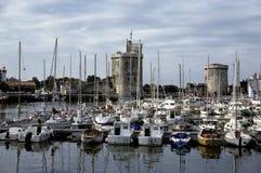 La Rochelle port royalty free stock image