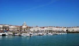 La Rochelle portuaria Foto de archivo libre de regalías