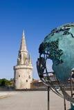 La Rochelle - puerto francés medieval fotografía de archivo libre de regalías