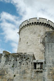 La Rochelle, The Saint-Nicholas tower (France). The Saint-Nicholas tower (Tour Saint-Nicolas) stands on the south bank of the port, opposite the Chain tower ( Royalty Free Stock Images