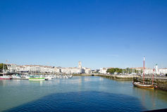 La Rochelle,  by sea (Charente Maritime, France) Royalty Free Stock Photo