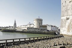 La Rochelle, Tower of the Chain (Charente-Maritime) France Stock Photography