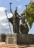 La Rogativa Statue by Lindsay Daen. Stock Images