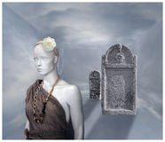 La Romana en el pasillo del cielo III Imagen de archivo