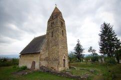 La Romania - chiesa di Strei Immagine Stock