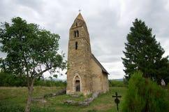 La Romania - chiesa di Strei Fotografie Stock