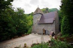 La Romania - monastero del puledro Immagine Stock