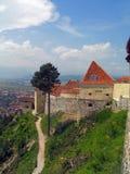 La Romania. Risnov Fotografia Stock