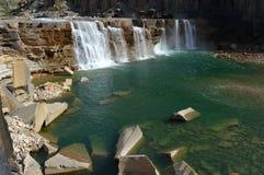 La Roncière Falls Royalty Free Stock Images