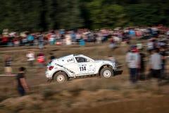 La ronda de Baja Polonia ocho de la loteria de FIA World Cup de este año para el campo a través se reúne Imagenes de archivo