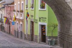 La Ronda Quito Ecuador royalty free stock photography
