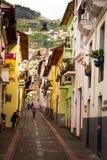 La Ronda Quito Ecuador South America stock images