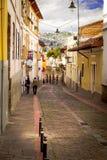 La Ronda Quito Ecuador South America royalty free stock photo