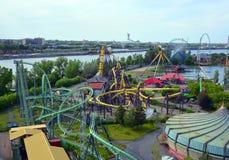 La Ronde圆的iamusement公园 库存图片