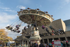 La Ronde游乐园转盘 库存照片