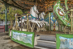 La Ronde游乐园转盘 免版税图库摄影