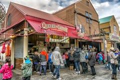 La Ronde游乐园食物 免版税库存图片